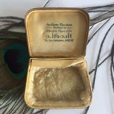Ecrin Ancien Boucles d'oreille Bague ou Pendentif Collection Bijou Jewel Case