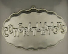 Congratulations Cake Pan from Wilton 3523 Clearance