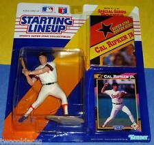 NM+ 1992 CAL RIPKEN JR Baltimore Orioles - low s/h - HOF Starting Lineup NM+