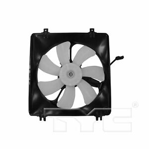 Passenger Right A/C Condenser Fan Assy TYC 611340 For Acura RDX Honda Accord