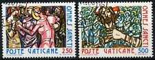 Città del Vaticano 1980 SG#753-4 FESTA DI TUTTI I SANTI CTO utilizzati Set #D59166