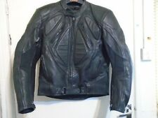 Vintage 90'S Belstaff Heavy Leather Motorcycle Jacket Size 48 L THERMAL LINER