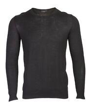 Richmond Denim Men`s Sweater Size 50 100% Virgin Wool