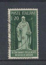 1950 - LOTTO/6105U - REPUBBLICA - 20 LIRE GUIDO D'AREZZO USATO
