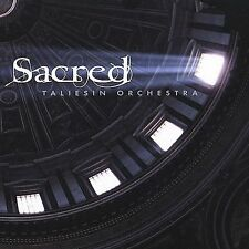 Sacred by Taliesin Orchestra (CD, Jul-2002, Compendia Music Group) PROMO copy