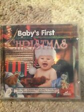 Baby's First Christmas CD