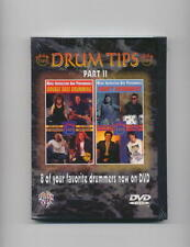 DRUM TIPS DVD DOUBLE BASS DRUMMING FUNKY DRUMMERS NEW