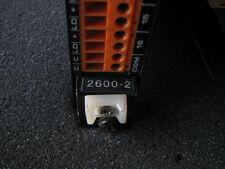 Triconex Model 2600-2  Clean used unit