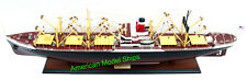 "SS AMERICAN SCOUT C2 Cargo Ship Model 35"" - Handmade Wooden Ship Model NEW"