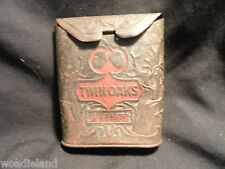 Twin Oaks Roll Top Mixture Trial Package Upright Pocket R Smoking Tobacco Tin