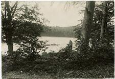 Idylle am See, Orig.-Photo um 1920
