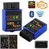 Wireless Bluetooth ELM327 OBD2 Car Scanner Android Torque OBD Auto Scan Tool UK