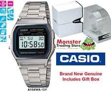 AUSSIE SELER CASIO GENTS VINTAGE RETRO 80's A158WA-1 A158 A158WA A168 WARANTY