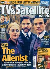 UK TV & Satellite Magazine 14 April 2018 Luke Evans Daniel Bruhl Dan Stevens