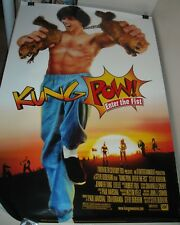 ROLLED 2001 KUNG POW ENTER the FIST 1 SHEET MOVIE POSTER STEVE OEDEKERK COMEDY