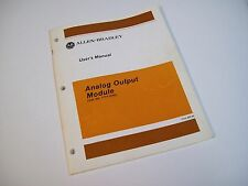 Allen-Bradley 955095-05 Users Manual Analog Output Module 1771-6.5.30- Free Ship