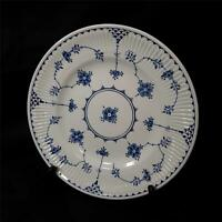 "Vintage Furnivals Blue Denmark 6 7/8"" Bread Plate Made In England Very Good"