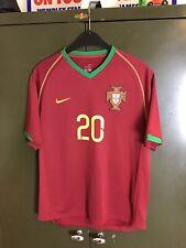 Portugal 2006 Nike Home Football Shirt DECO 20 Size Small