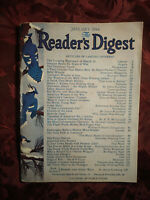 RARE Reader's Digest January 1944 w/ AYN RAND Article The Only Path To Tomorrow