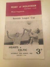 Away Teams C-E Celtic Scottish Cups Football Programmes