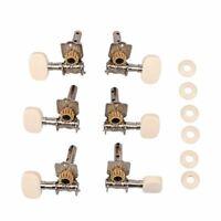 1Set 3L 3R Classical Guitar String Tuning Pegs Tuners Machine Heads Open Gear Gu