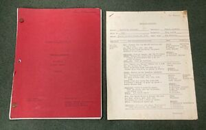 Vintage Original 1970 Hawaii Five-O scripts BEAUTIFUL SCREAMER