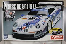 Rare Kyosho Superten GP Porsche 911 GT1 4WD Partial Built Never Run Unpaint Body