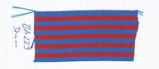 Ordensband Ausland blau rot 37mm 0,5meter (ba229) (1m9,80)