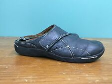 Naturalizer N5 Comfort Women's Closed Toe Clogs - Size 8 - Black Leather