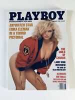 Playboy Magazine - August, 1990 Back Issues - Vintage - with Centerfold Intact
