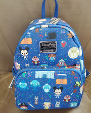 Disney Attractions Loungefly Mini Backpack Yeti Ghost Mickey Small World Mr Toad