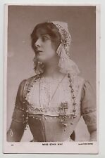 POSTCARD - Edna May, stage beauty, Edwardian theatre actress in costume