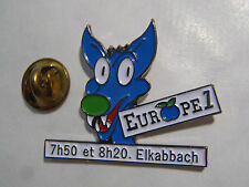 PIN'S Radio Europa 1 7H50 And 8H20 Elkabbach