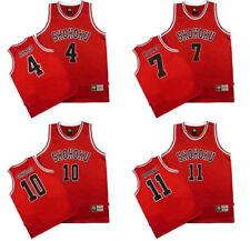 Slam Dunk SlamDunk Shohoku Basketball Jersey Cosplay Athletic Apparel No.1~No.15