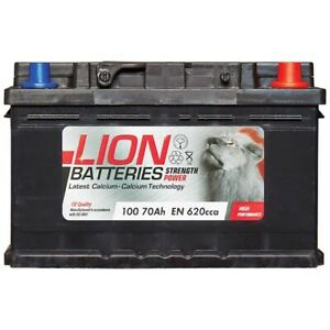 CAR BATTERY TYPE 100 (FITS MORE THAN ONE VEHICLE) 12V 70Ah