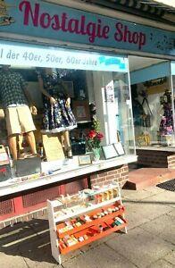 60r 70er Jahre, Alter Kaufladen Kaufmannsladen mit Zubehör, Miniatur Tante Emma