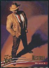 1996 X-Men Ultra Wolverine Trading Card #4 Kestrel