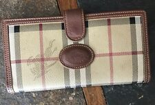 Burberry Vintage Check Long Wallet