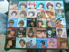 LOT DE 30 45T  MIREILLE MATHIEU