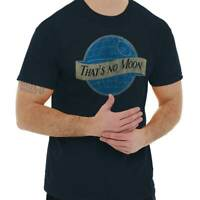 That No Blue Moon Funny Shirt Star Death Star Beer Wars Darth Classic T Shirt Te