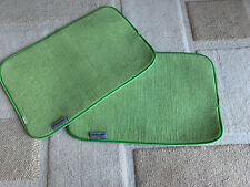 Two KitchenAid Green Mats Double Sided