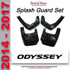 Honda Odyssey Splash Guards 2014 - 2017    P/N: 08P00-TK8-100B