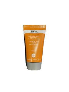 REN Clean Skincare Overnight Glow Dark Spot Sleeping Cream 10ml - Foil Sealed