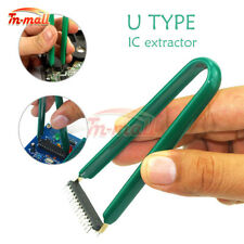 U Type Flat IC Chip Protect Pliers ROM Circuit Board Extractor Removal Puller