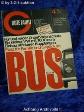 Gute Fahrt 4/66 VW Bus 7-Sitzer VW Kupplung VW GF 1600