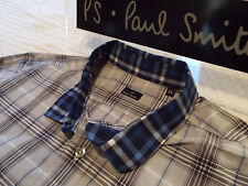 """PAUL SMITH Mens Shirt 🌍 Size XL (CHEST 44"""") 🌎 RRP £95+ 🌏 CHECKS & CONTRASTS"""