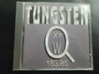 TUNGSTEN   -  183.85 ,       CD   1993,      ROCK  , HEAVY  METAL