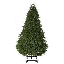 7.5 ft. Pre-Lit Spring Hill PE/PVC Artificial Christmas Quick Set EZ Store Tree