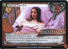 Buffy TVS CCG Limited Class Of 99 Uncommon Card #63 Price Of True Evil