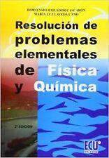 Resolución de problemas elementales de física y química. ENVÍO URGENTE (ESPAÑA)